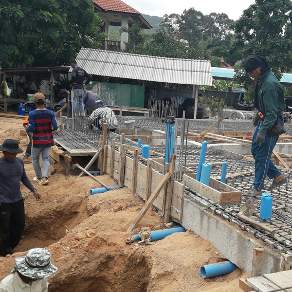 Construction Koh samui