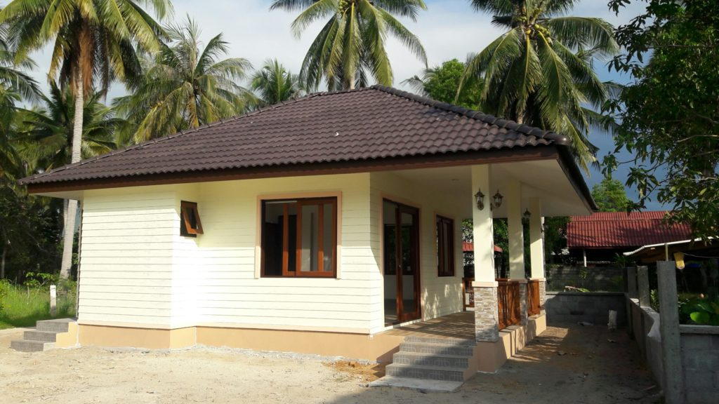 House construction Koh Samui