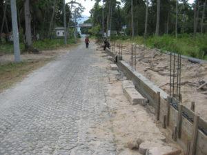 cement fence construction koh samui