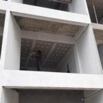 apartmetn roof work