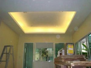 standard box ceiling