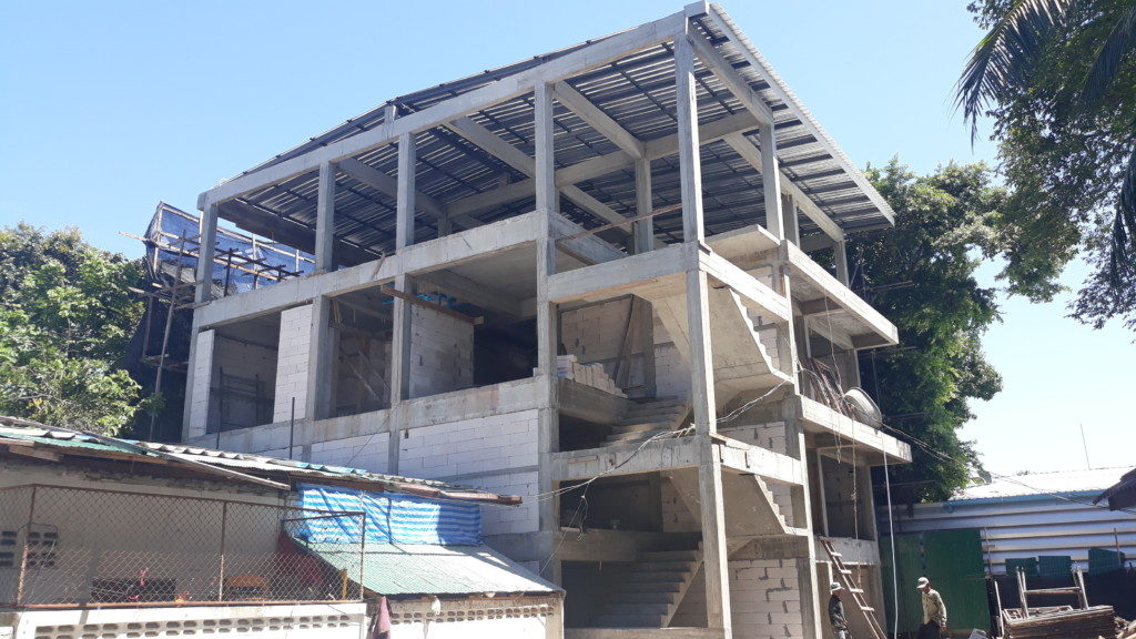 bangrak hotel koh samui coming soon. three floor strugture