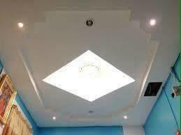 เพดานช้าง เพดานไฟสว่าง เพดานสีขาว ทำเพดาน