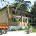 hotel apartment construction in lipanoi beach