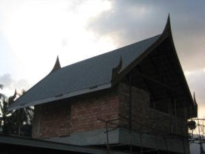 thai style roofing samui