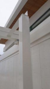 ประตูปลอดภัย สีขาว ประตูเหล็ก ประตูป้องกัน