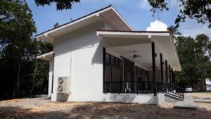 New building for restaurant in namuang, koh samui. Contstuction koh samui make rungrungchai