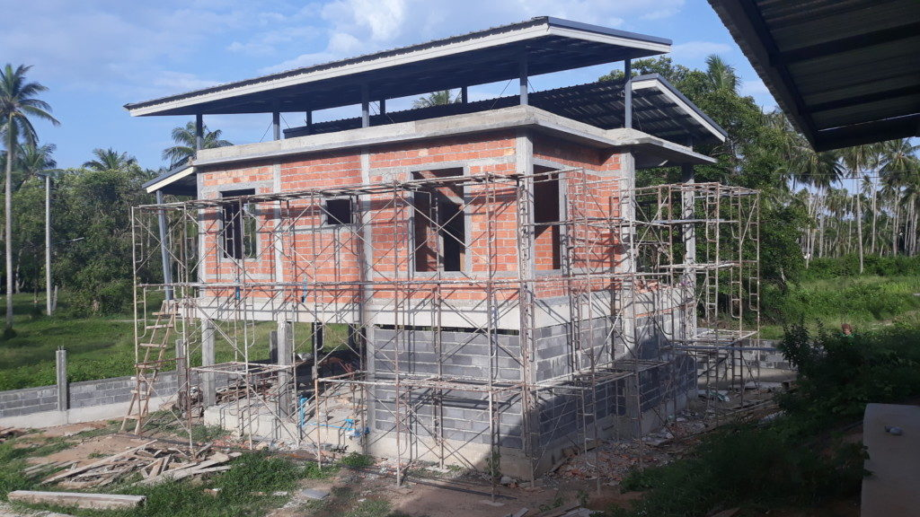 around house scaffolding with out size limit