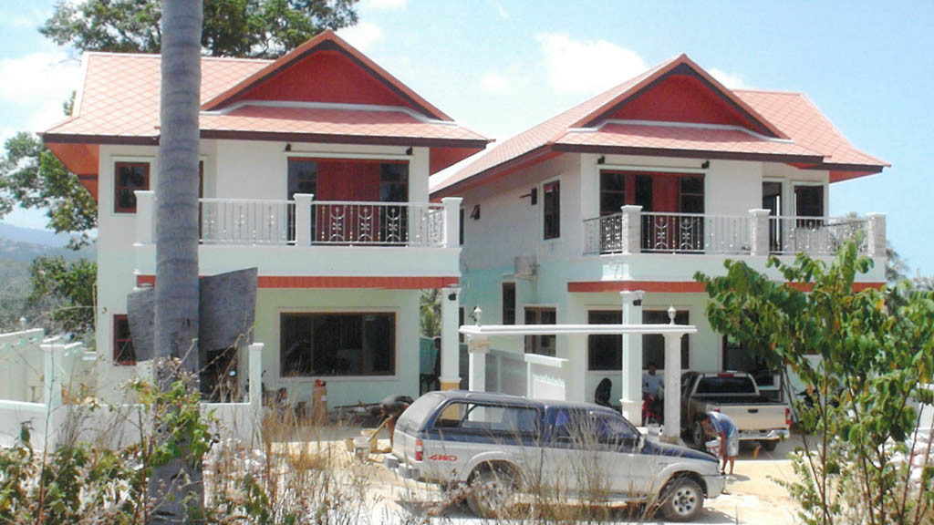 house construction in koh samui